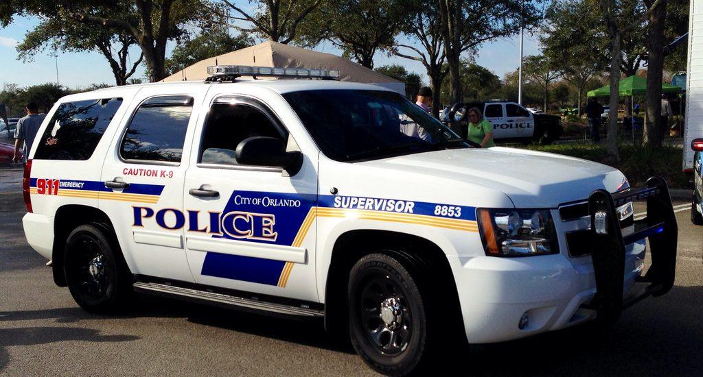 Orlando Police Department Jeep