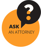 Button to Ask an attorney page